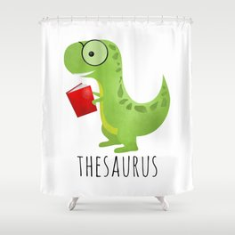 Thesaurus Shower Curtain
