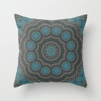 greece Throw Pillows featuring Greece  by T.Res