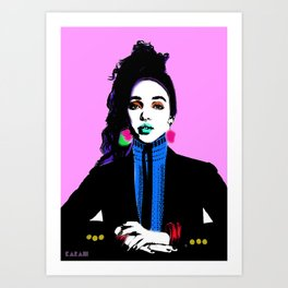 FKA Twigs Pop Art  Art Print