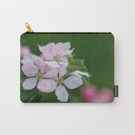 Classic Image Of Apple Tree Blossoms In The Garden In Spring Carry-All Pouch