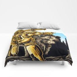 Golden Bearborg Comforters