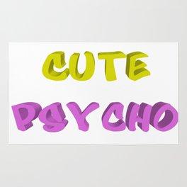 Cute psycho Rug