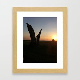 sunsets Framed Art Print