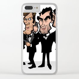 Faces of Bond Clear iPhone Case