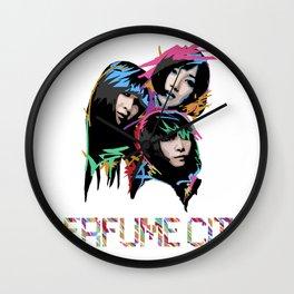 Perfume City by Borghie Wall Clock