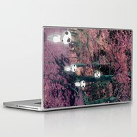 kodama Laptop & iPad Skins featuring Kodama in the woods by pkarnold + The Cult Print Shop
