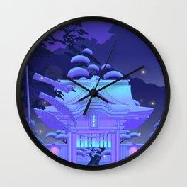 Blue Daydream Wall Clock