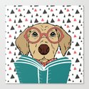 Reading Dog by evieseo