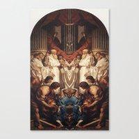 roman Canvas Prints featuring ROMAN by Mark Robinson