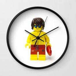 Minifig Lifesaver Wall Clock