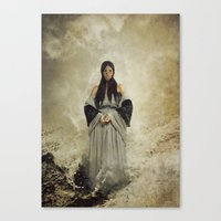musa Canvas Prints featuring La Musa del Lamento by Naelle Devannah