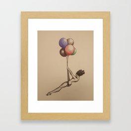 freedom swing Framed Art Print