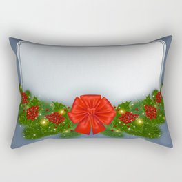 Christmas card Rectangular Pillow