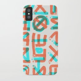 Abstract Graffiti iPhone Case