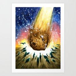 Astroid Art Print