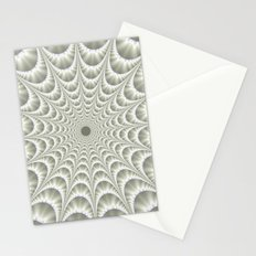 Quilted Web in White Stationery Cards