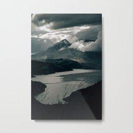 Moody Mount St. Helens Metal Print