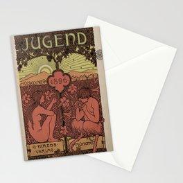 Vintage poster - Jugend Magazine Stationery Cards
