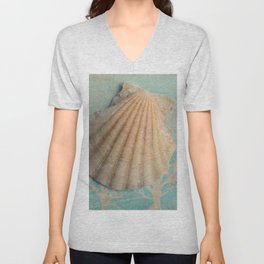 She sells sea shells... Unisex V-Neck