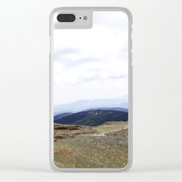 Earth is Curvy Clear iPhone Case