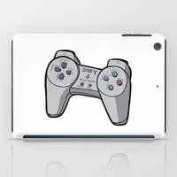 playstation iPad Cases featuring Playstation controller by Matt Ellero