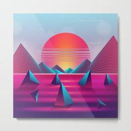 Lucid Sunset Dreams Metal Print