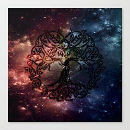 Viking Tree of life Canvas Print