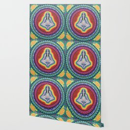 Sacred Chakras Mandala Wallpaper