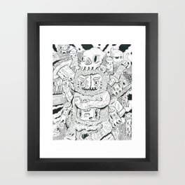 less limb Framed Art Print