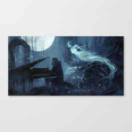 You are in my dream Canvas Print