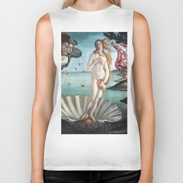 The Birth of Venus, Sandro Botticelli Biker Tank