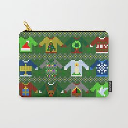 The Ugly 'Ugly Christmas Sweaters' Sweater Design Carry-All Pouch