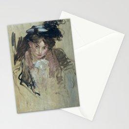 Jacques-Émile Blanche - Portrait de femme Stationery Cards