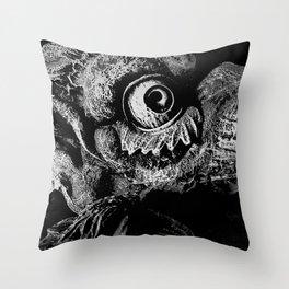 """Stone Guardian"" Throw Pillow"