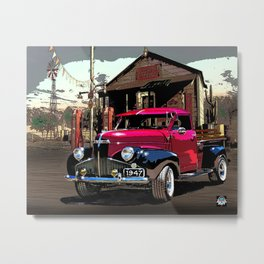 1947 Studebaker M Series truck Metal Print