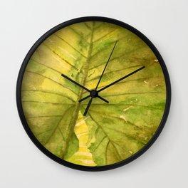 Garden Shadows Wall Clock