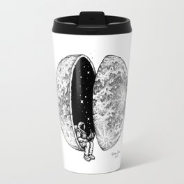 Chilling in Space Travel Mug