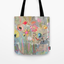 fresh pot of flowers for you Tote Bag