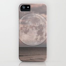 a whisper heard on the other side  iPhone Case