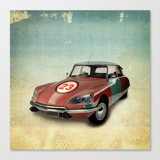 Number 23 _ Citron DS Canvas Print