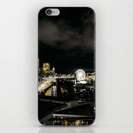 Golden Seattle iPhone Skin