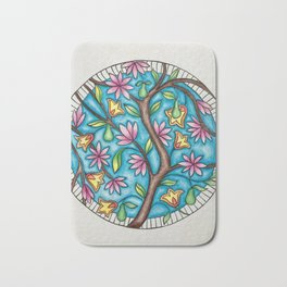 Pear Tree Bath Mat