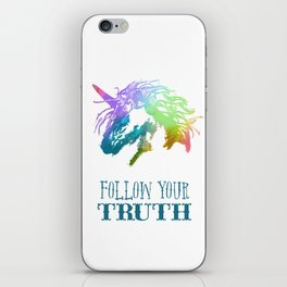 Follow Your Truth iPhone Skin