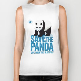 Save the Panda Biker Tank