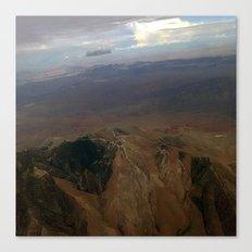 Mountains close up Canvas Print