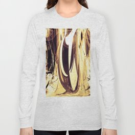 """""""Abstraction Solarized"""" Long Sleeve T-shirt"""
