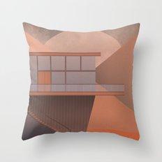 Canyon House Throw Pillow