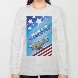 Highway To The Endangered Zone Long Sleeve T-shirt