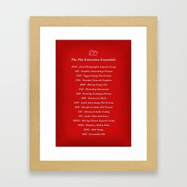 Essentials Framed Art Print