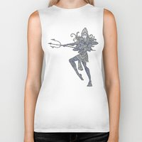 shiva Biker Tanks featuring Shiva by KittenDCute